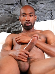 Jin Powers likes to start his mornings off proper: by tugging and sucking his man's enormous cock