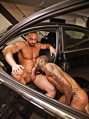 Hot Rod and Fabio Stallone Sneak Away for Some Bareback Fun