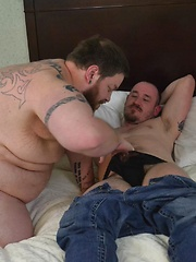 Big, Greedy, and Piggy Mountain Man Bottom Pounded By Thick Hung Maximus O'Connell
