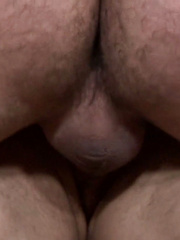 Recurring stars Miguel Temon tops Joey in this slow and sensual scene.  Joey swallows Miguel\'s ...
