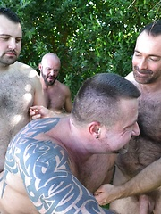 Rex Blue Joins Carlo Cox, Brad Kalvo and Marc Angelo In Outdoor Fourgy