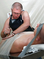 Taped Down Twink Drained Of Cum