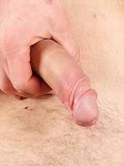 Gorgeous Dave Summers tugging on his hard firm cock.