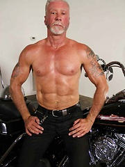 Dean Burke loves riding his hog but he wants to be riding a hot bear