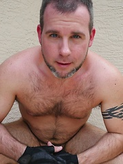 Trim Cub Rick Wolf In His First BearFilms Solo!