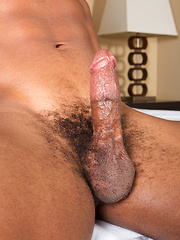 Black guy Clay shows amazing body