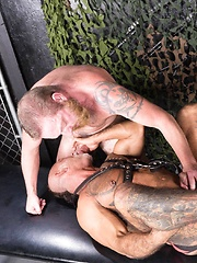 Dalton Hawg and Bo Bangor