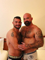 Aarin Asker and Victor West